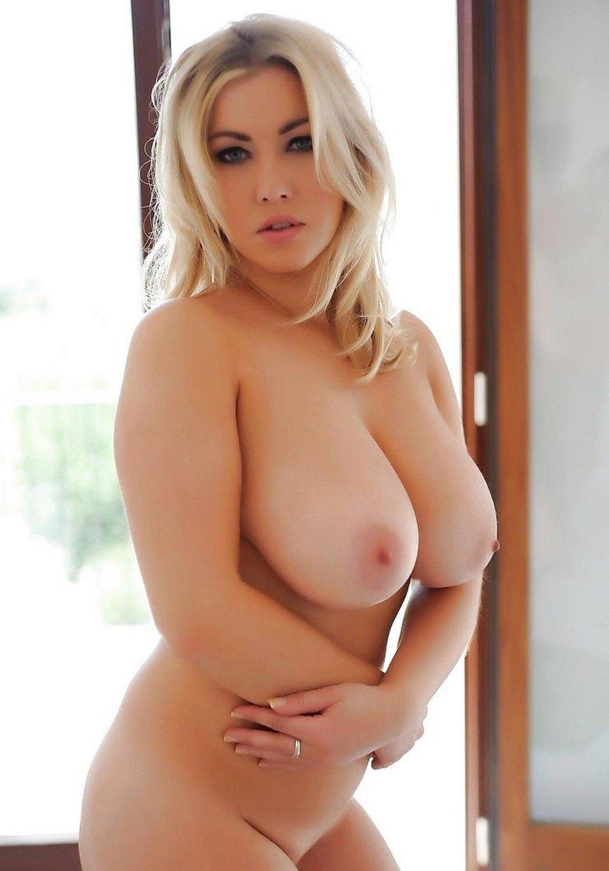 Naked curvy blonde girls