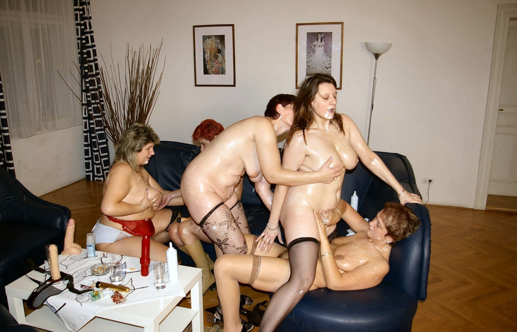 Real Swinger Orgy Party