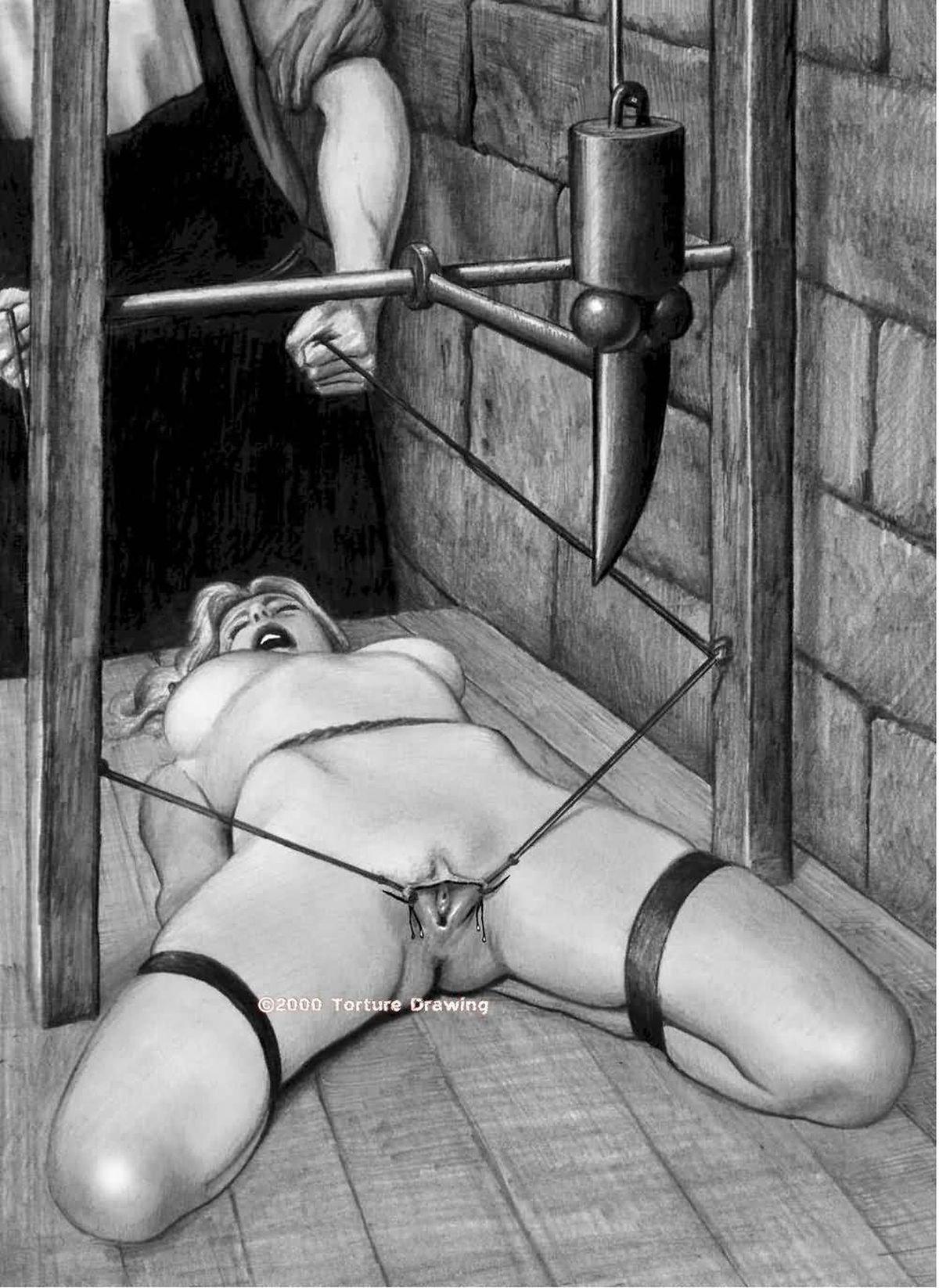 Femdom bondage torture
