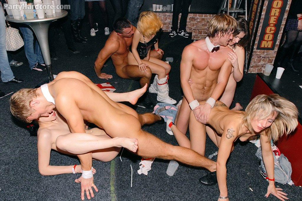 Crazy orgy party