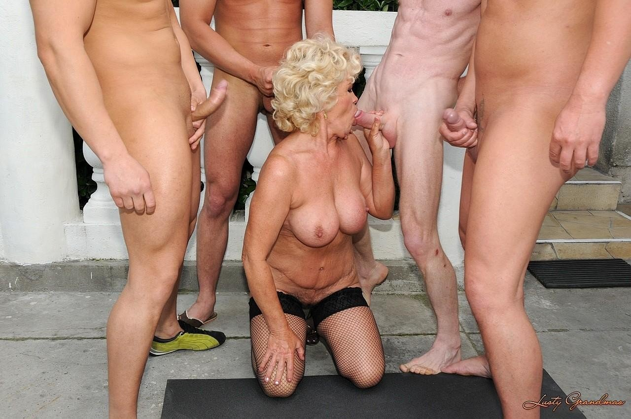 Grandma Gang Bang Picture