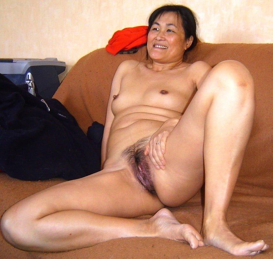 Beautiful nude mature asian women