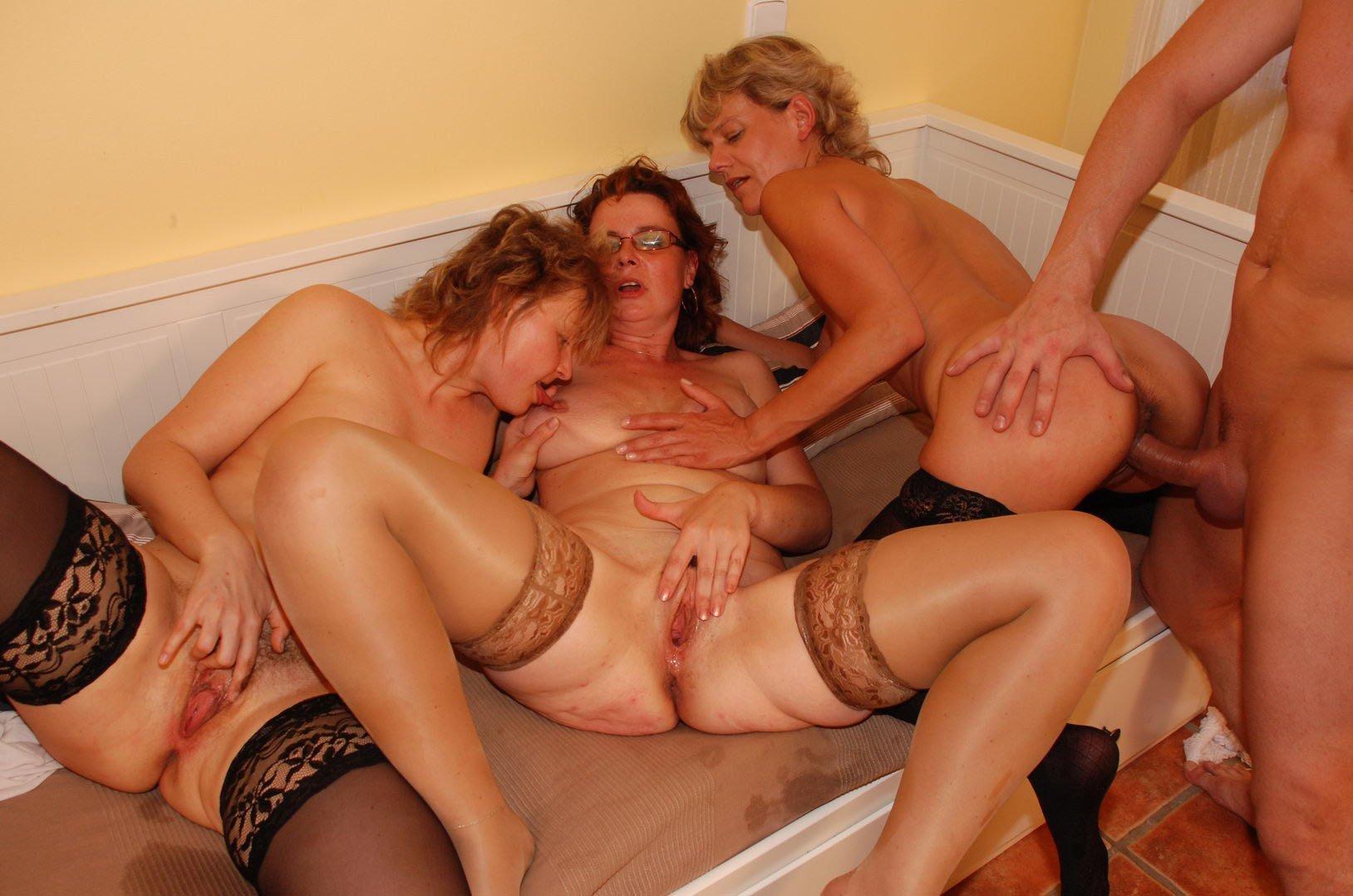 Mature orgy porn pics