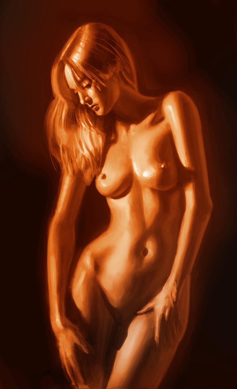 Naked Old Man Digital Art By Joaquin Abella