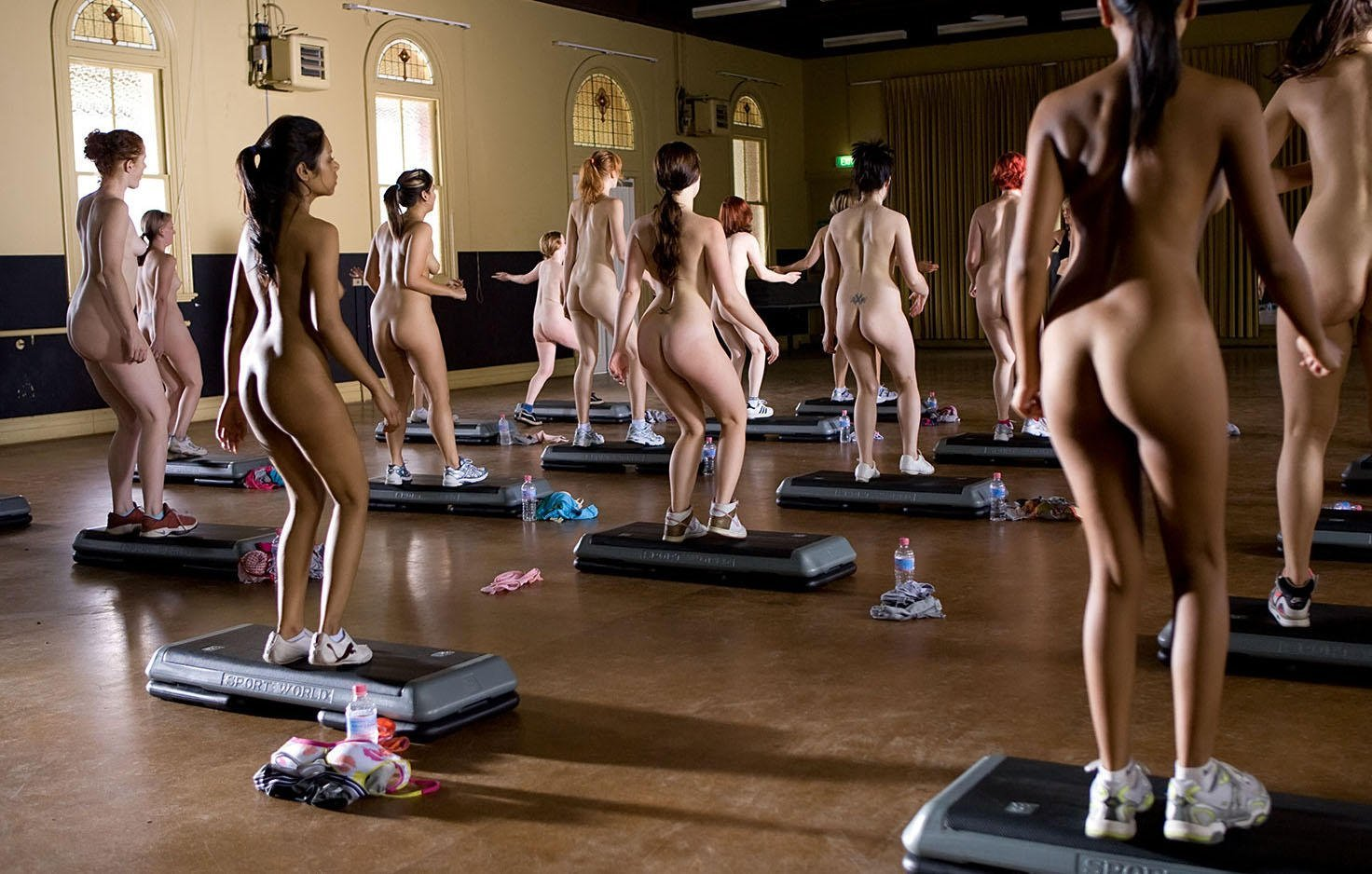 Exercise curves nude pics and vids