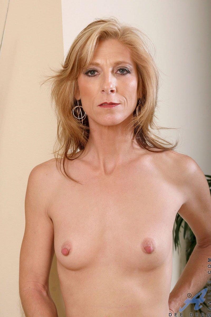 Small tits mature porn