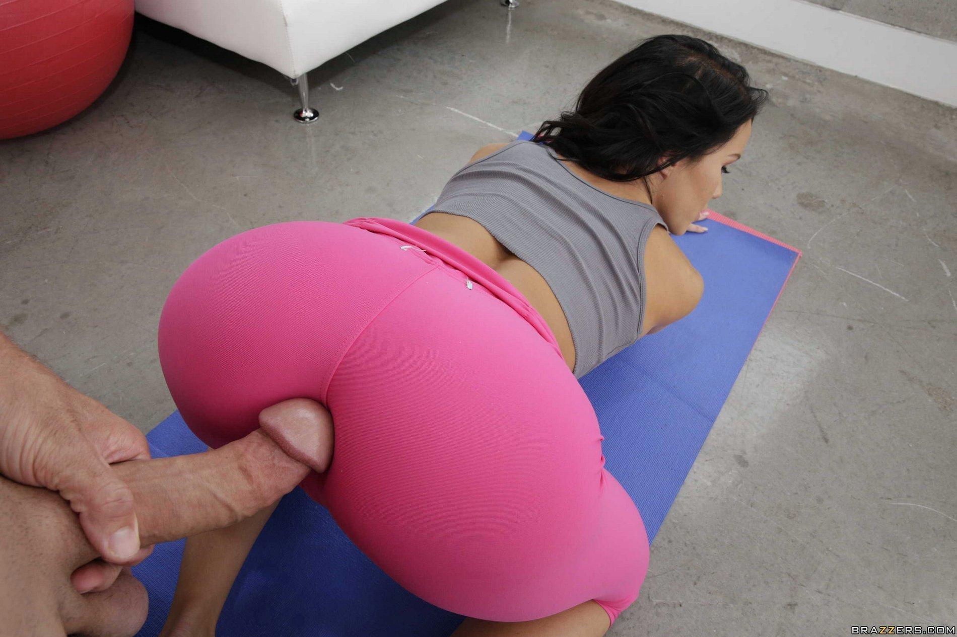 Big ass spandex, porn