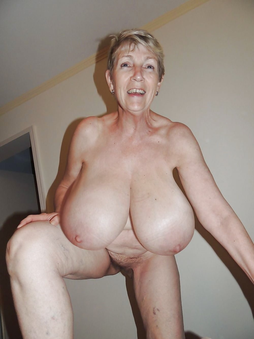 Large Granny Tits