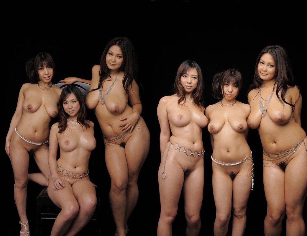 Japan Group Nude
