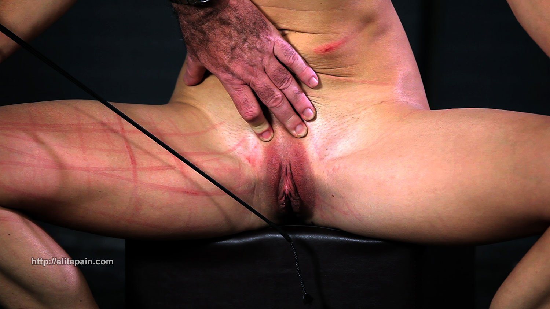 BDSM Tit Whipping