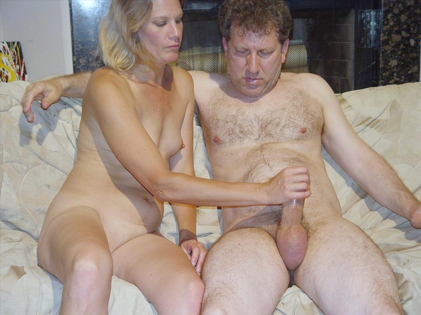 Wives posing naked