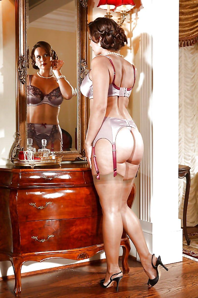 Lingerie tease best porn pics