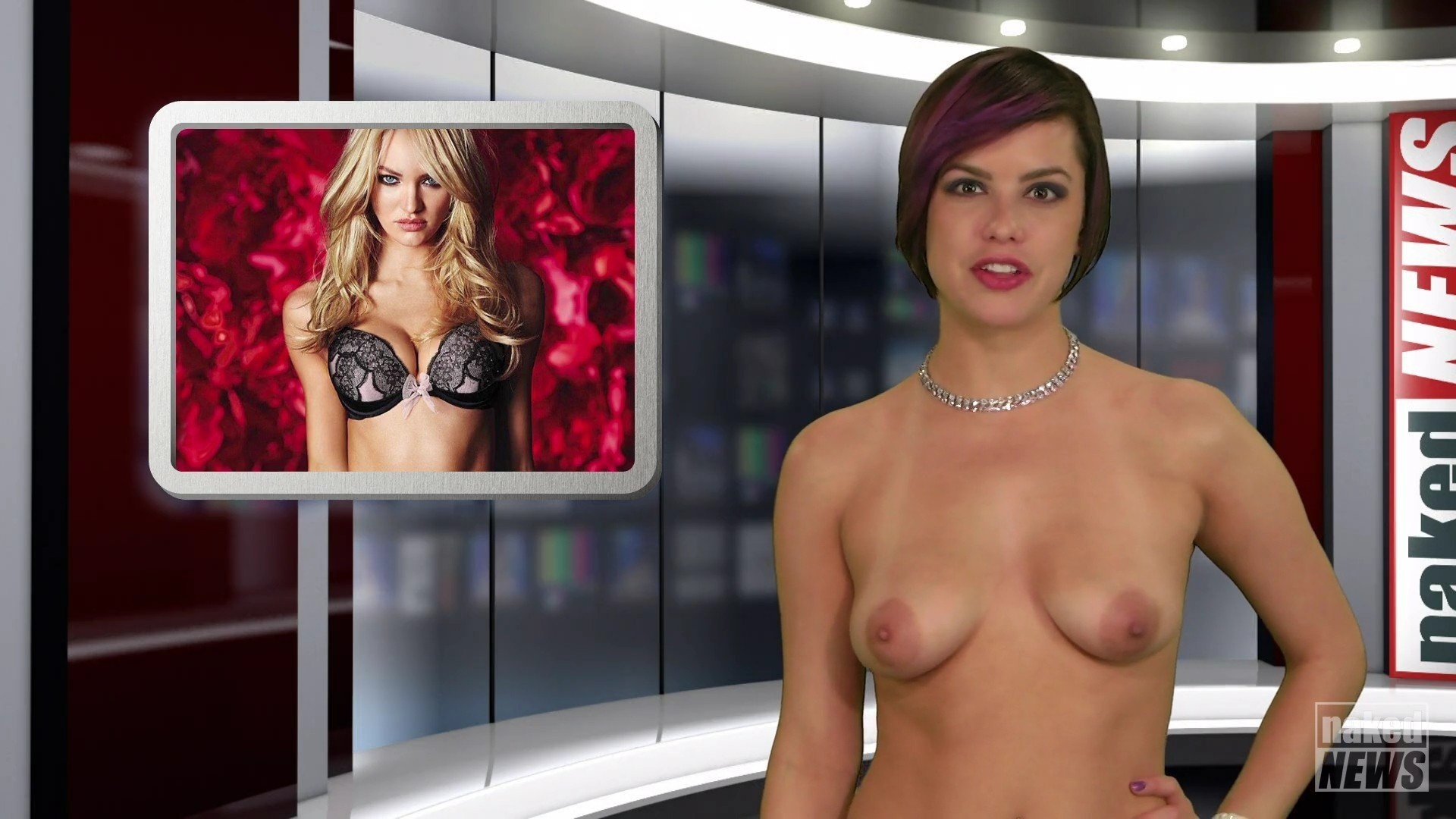 Local Tv Reporter Accidentally Shows Naked Husband During Broadcast