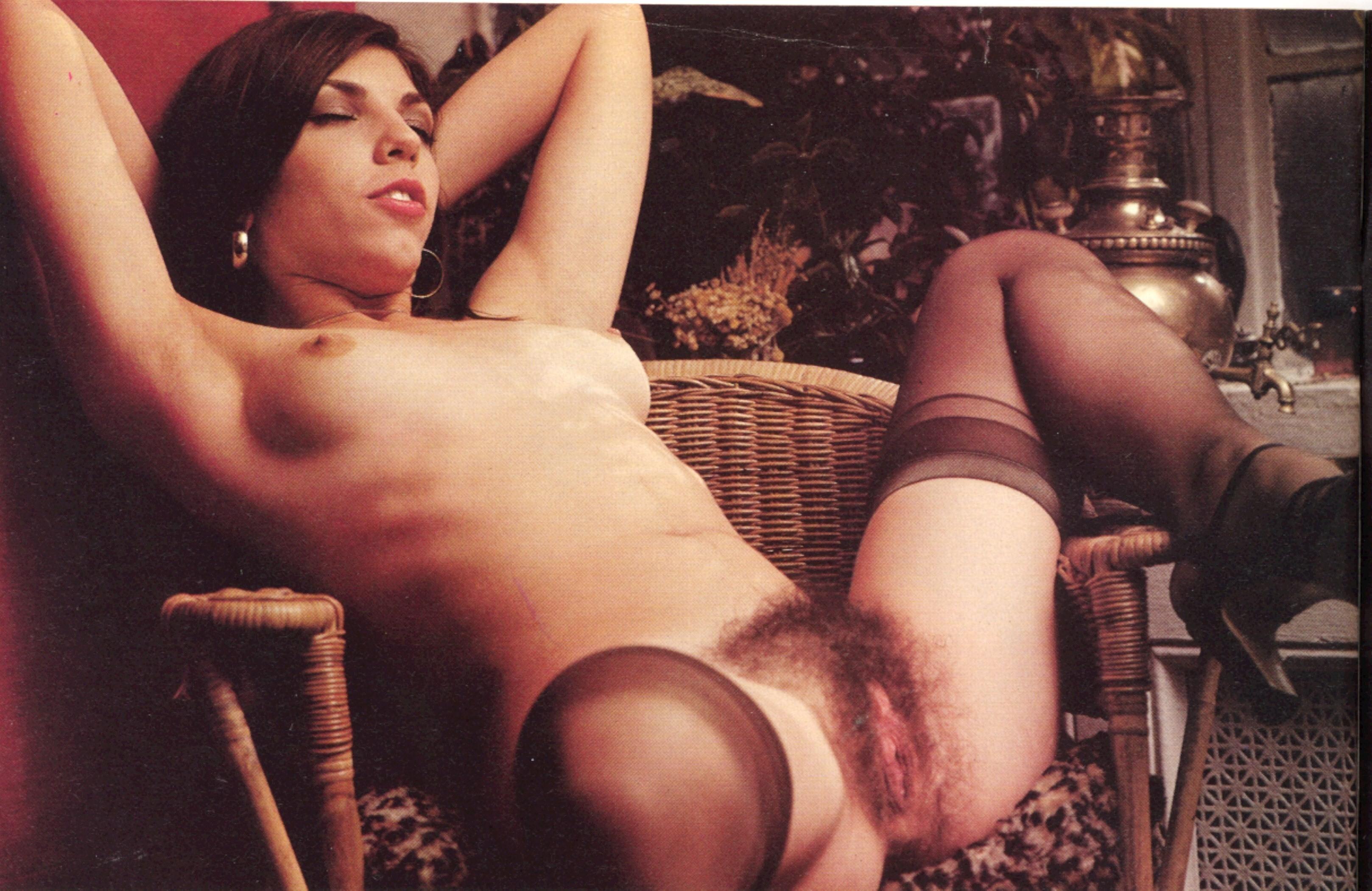 Vintage German Hairy Pussy