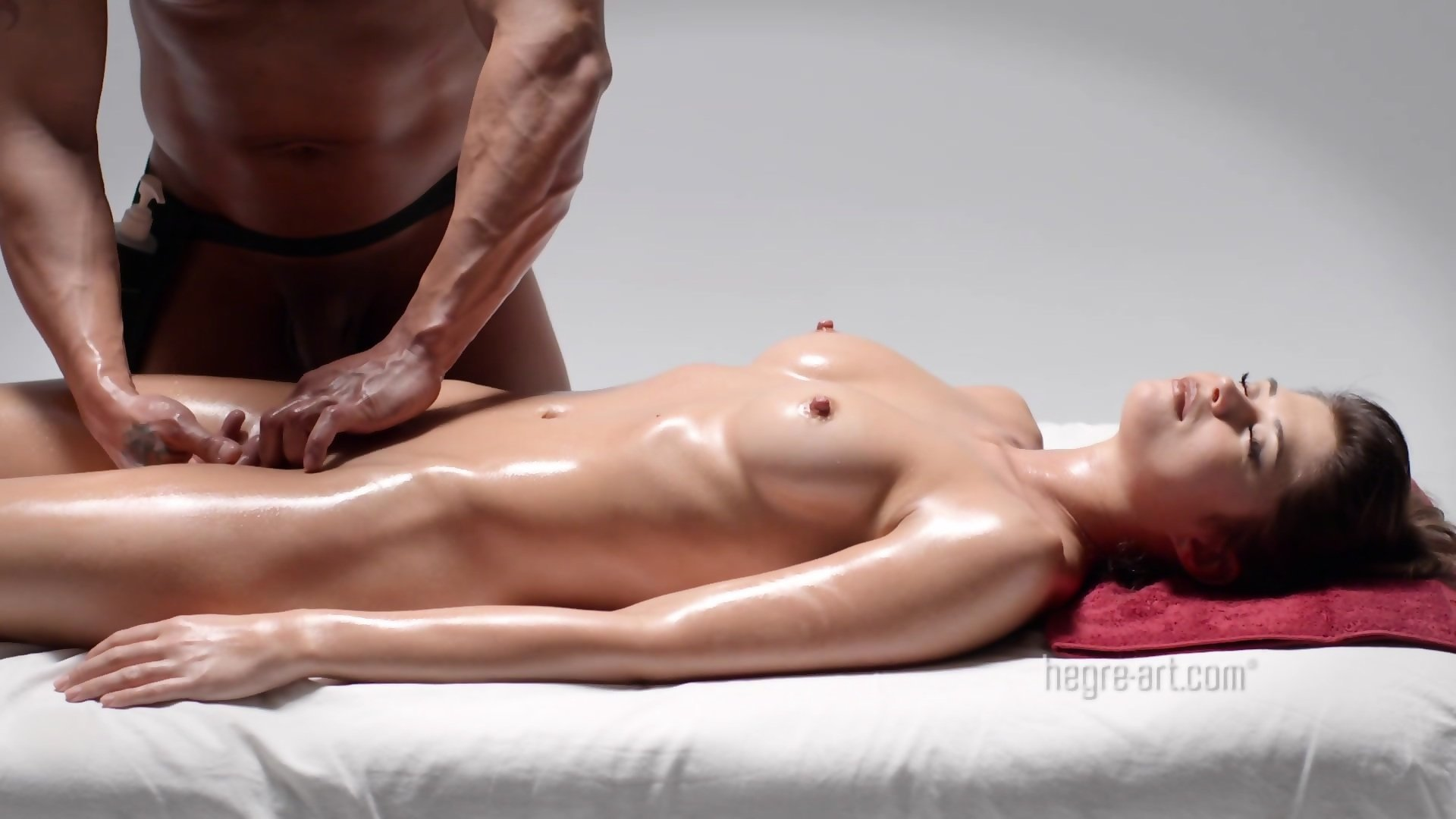 Nude asian massage happy ending