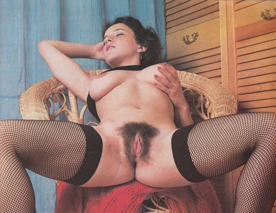 Vintage Retro Hairy Pornstars