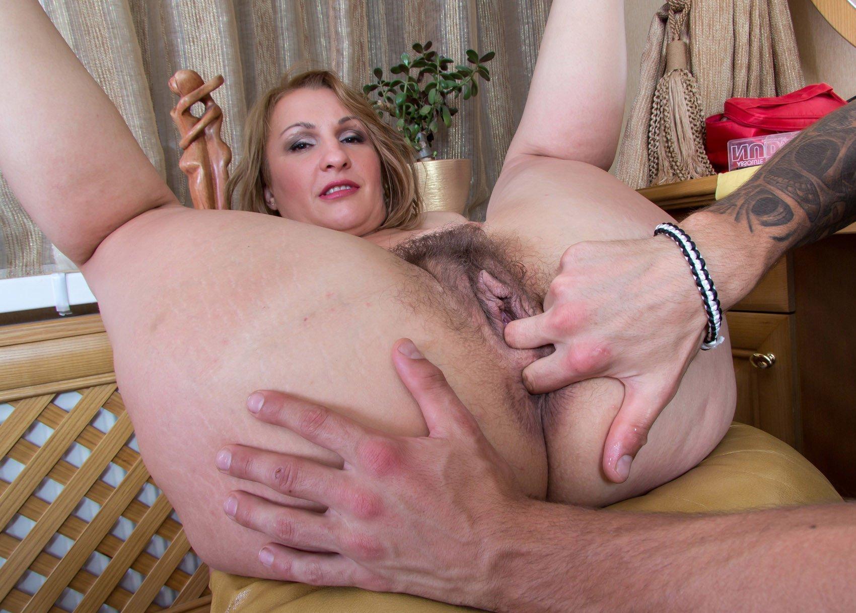 Mature big tits anal, porn
