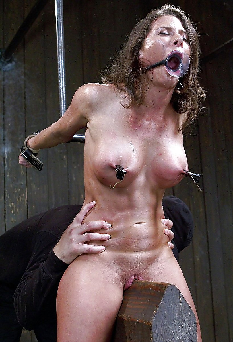 Can't resist choking myself to multiple orgasms during public ride