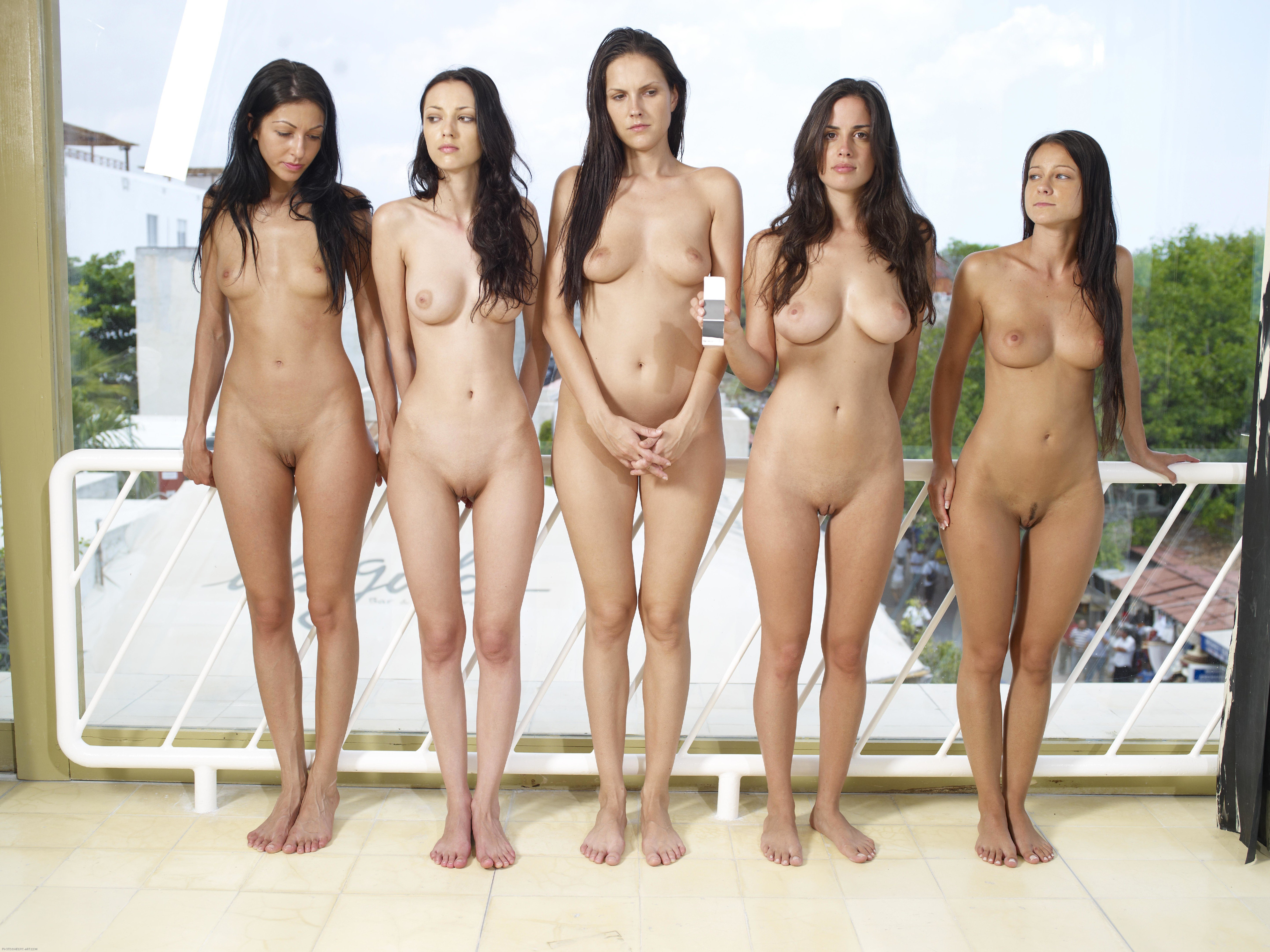 Groups Of Nude Girls